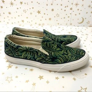 Rifle Paper Co x KEDS | Monstera Print Sneakers